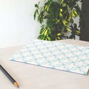 Alhambra Tile Notebook